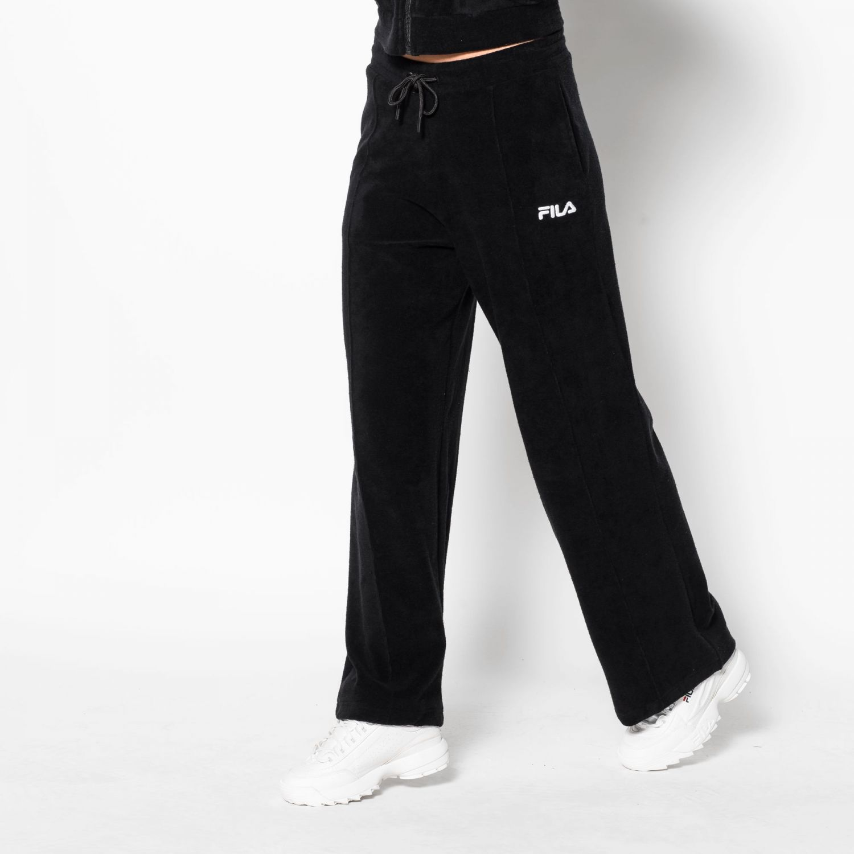 bd51d8d8 Fila Corin Towelling Flare Pants - black   FILA Official