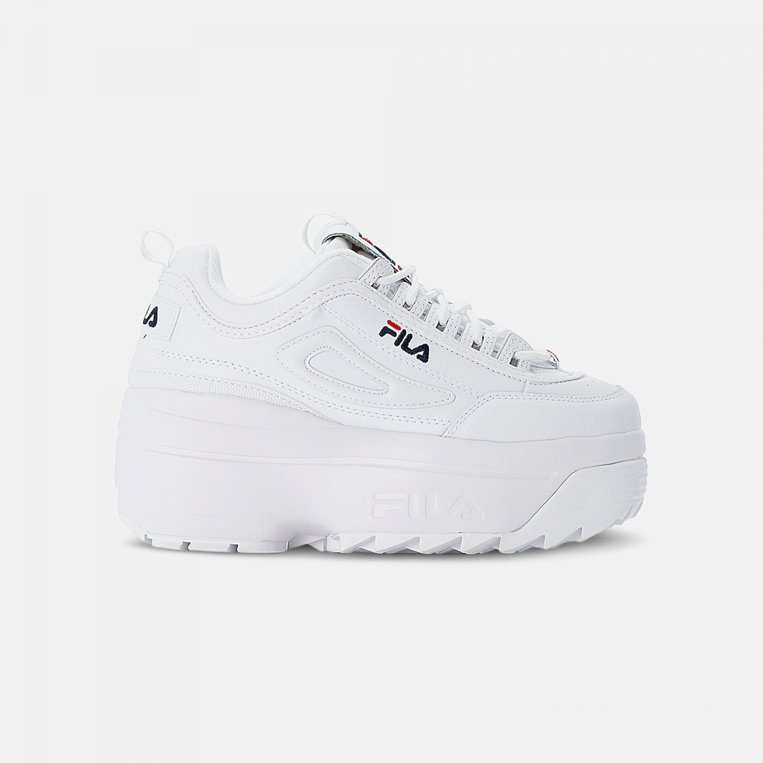 Fila Disruptor II Wedge Wmn white Bild 1