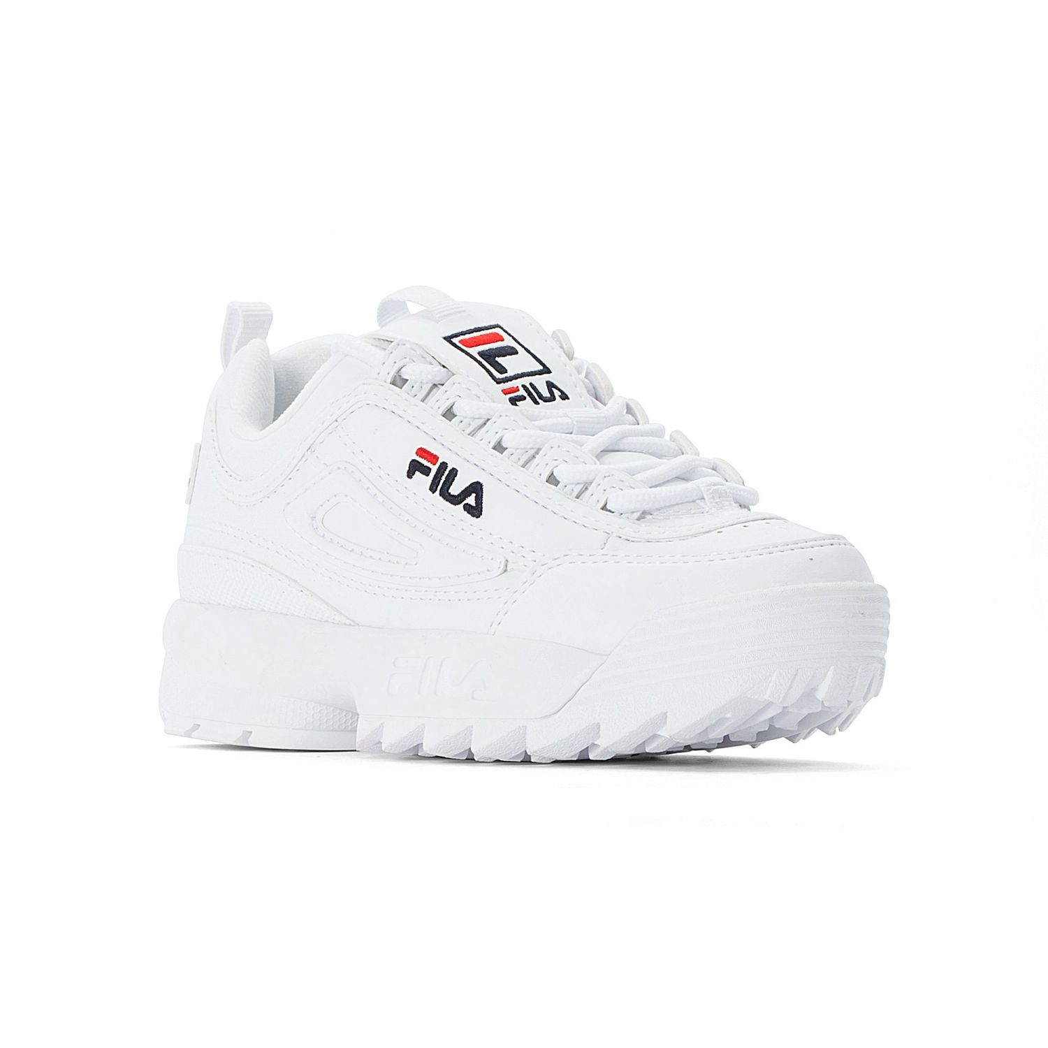 Fila Disruptor Kids White White Fila Official