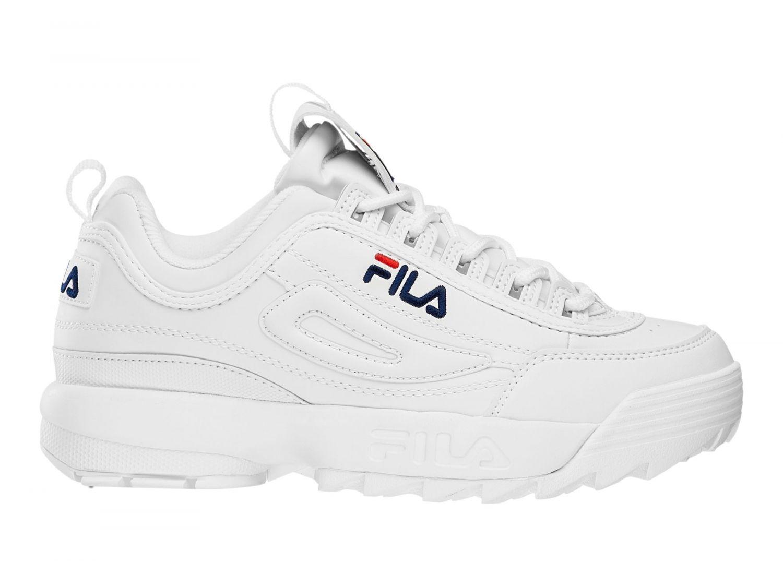 df86930406f3 Fila - Disruptor Low Men White - 00014201641492 - white