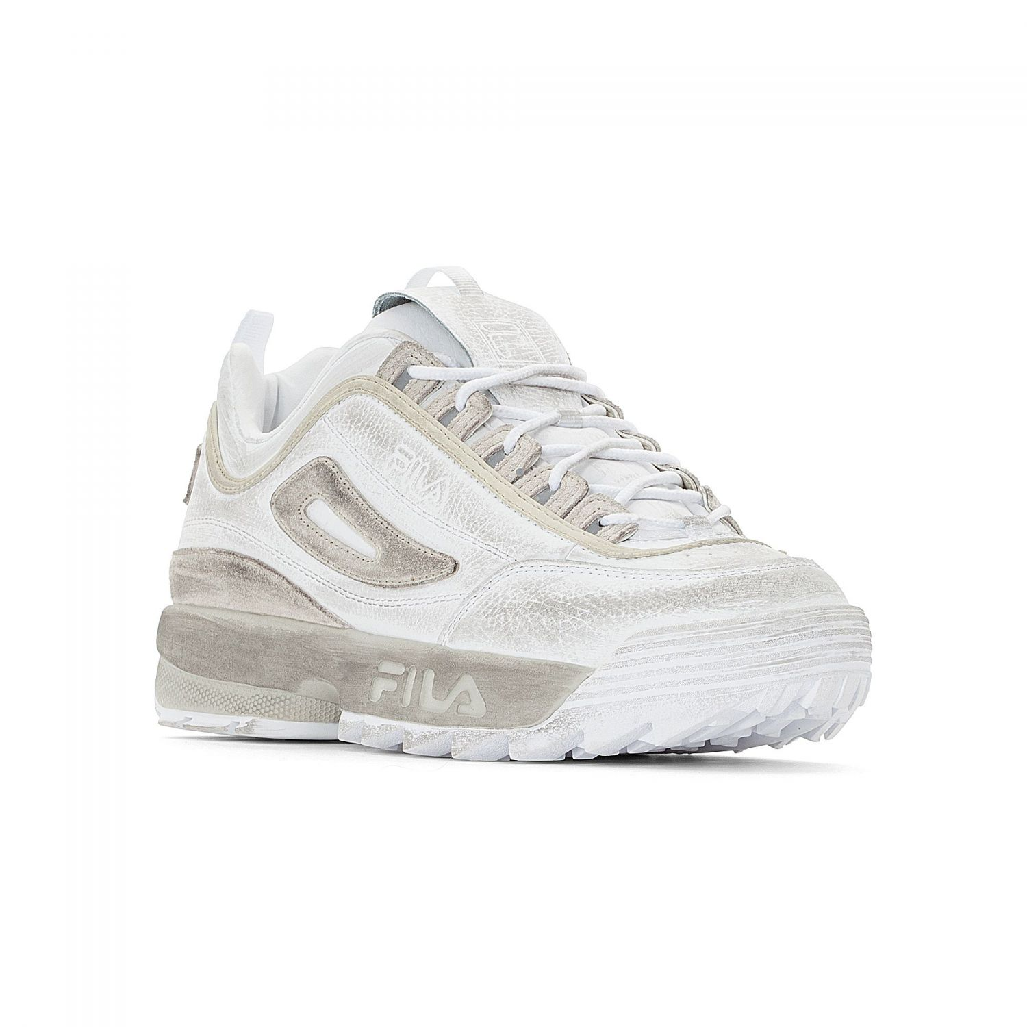 new product big sale separation shoes Disruptor Low Men white-gardenia