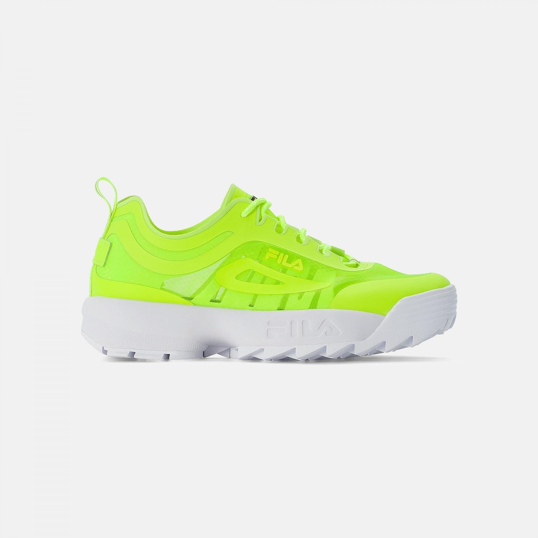Fila Disruptor Run Men neon-lime Bild 1