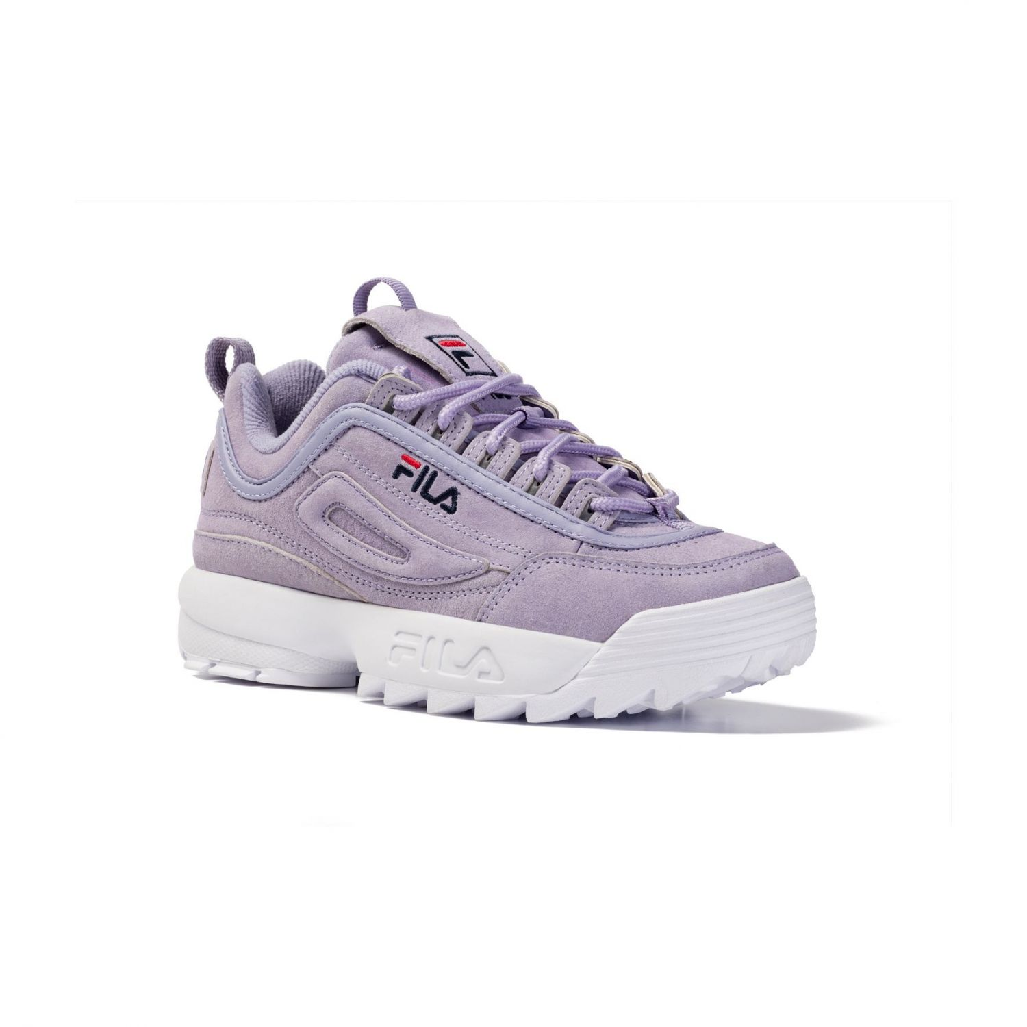 c70aa8200 Fila Disruptor S Low Wmn sweet lavender - lavender | FILA Official