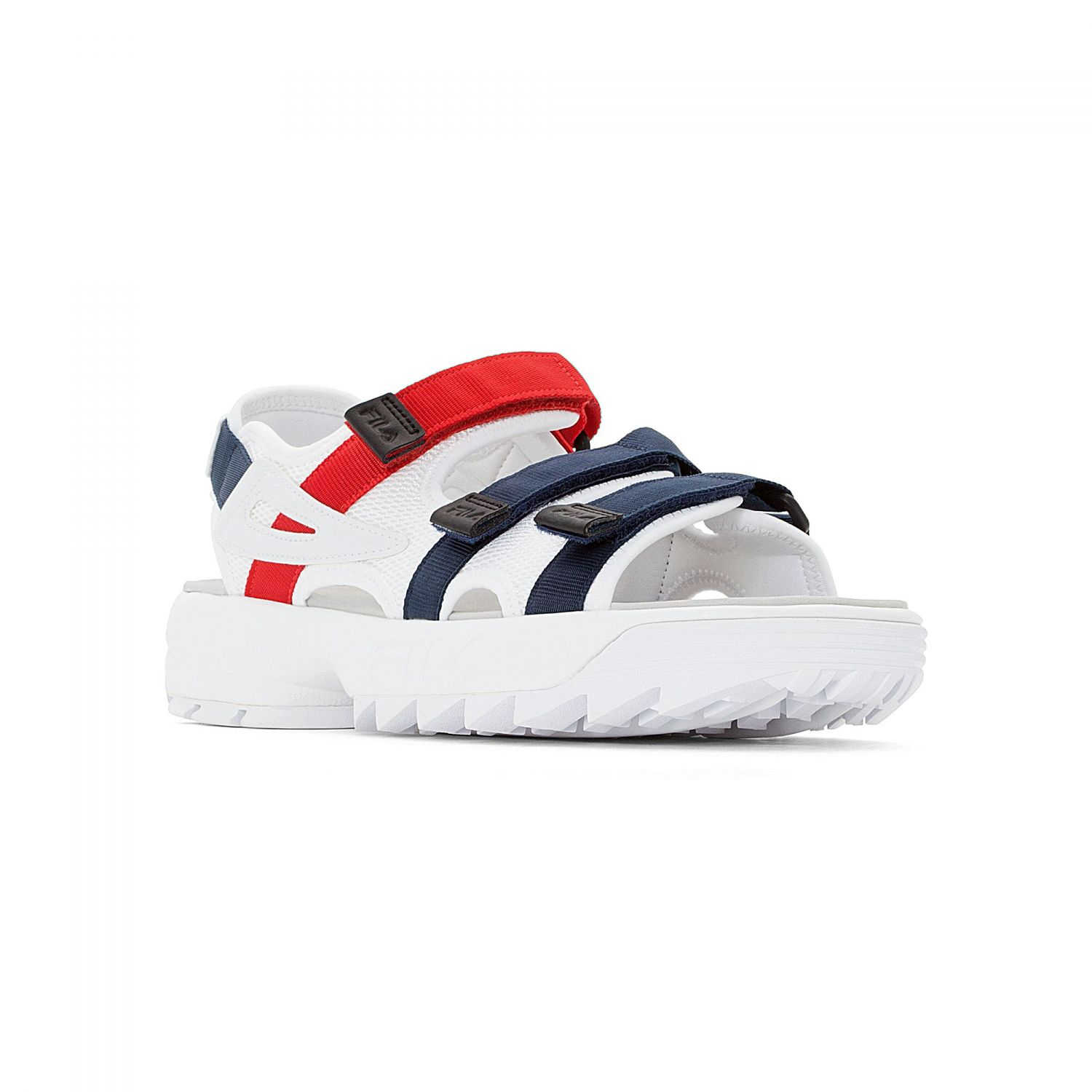 e55114415765 Fila - Disruptor Sandal white-navy-red - 00014201669...