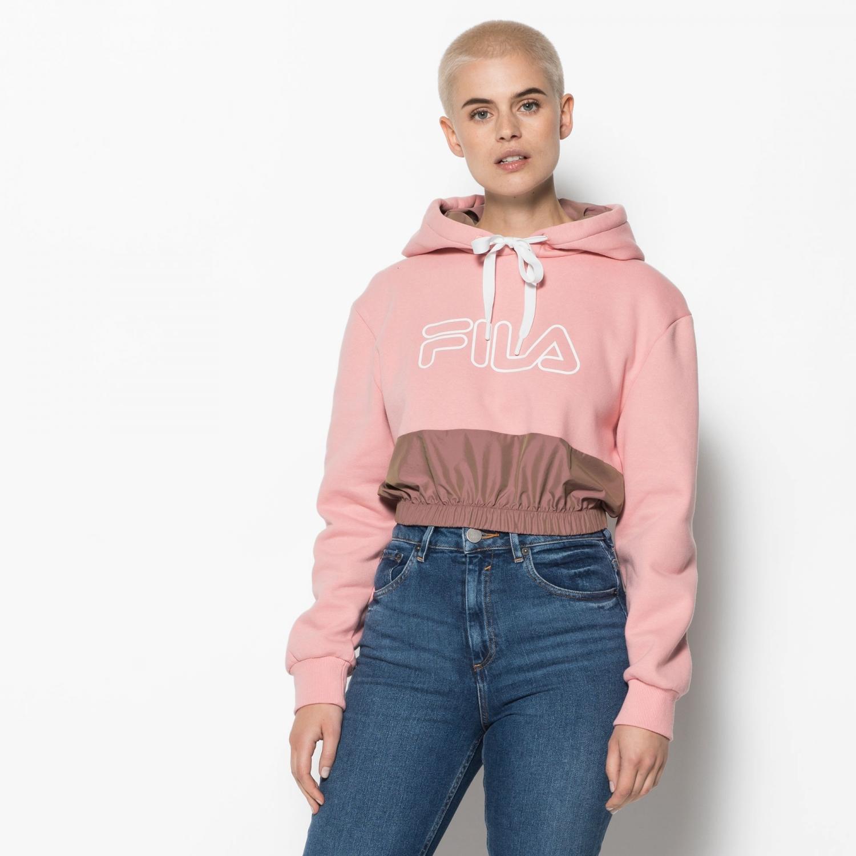 8099c3c2e579 Fila - Dora Crop Hoodie - 00014201657188 - pink