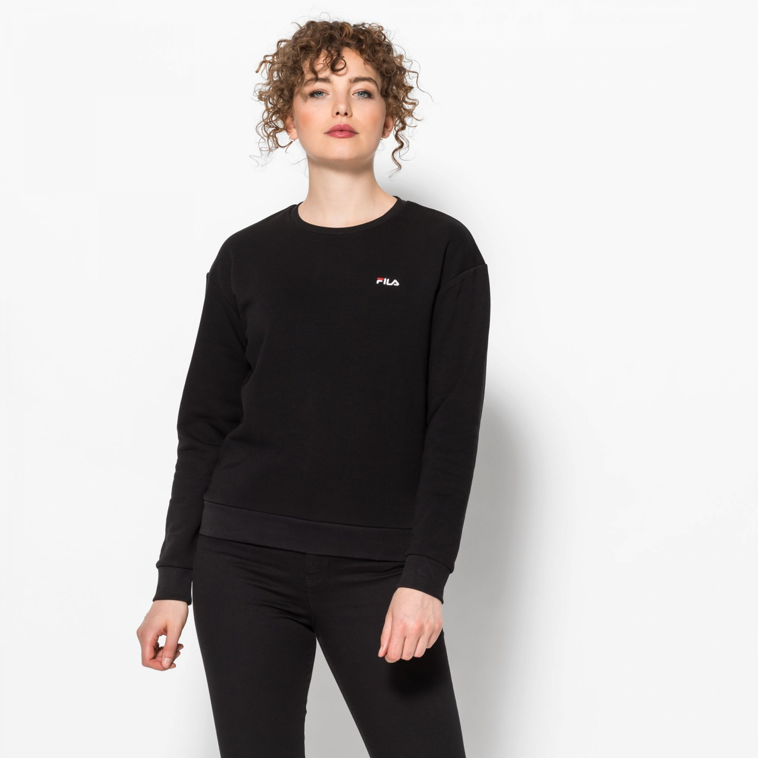 Fila Effie Crew Sweat black Bild 1