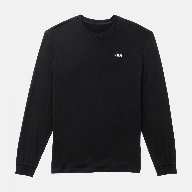 Fila Eitan Long Sleeve Shirt black Bild 1