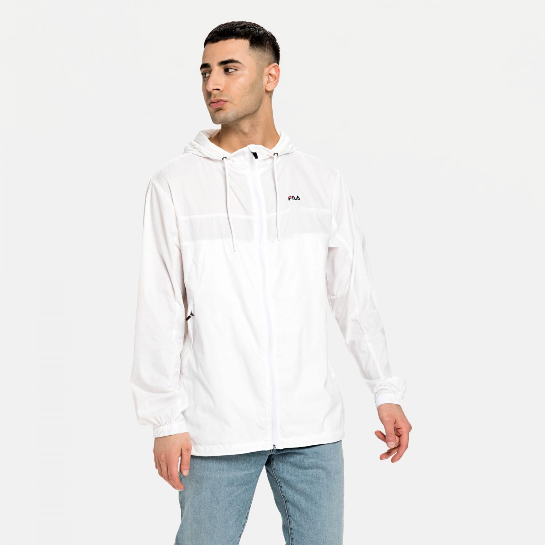 Fila Eracio Thin Woven Jacket white Bild 1