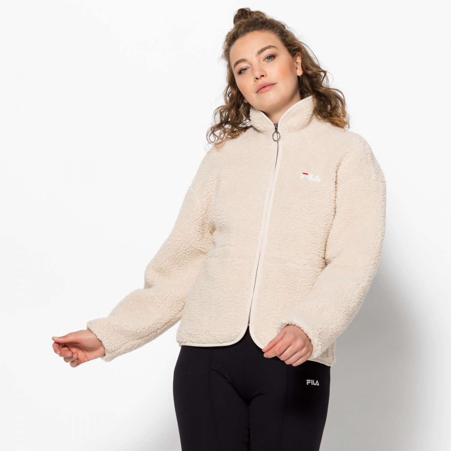 Fila Hajar Sherpa Fleece Jacket Bild 1