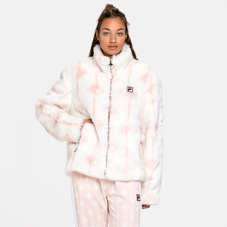 Fila Haruto AOP Fake Fur Jacket Bild 1