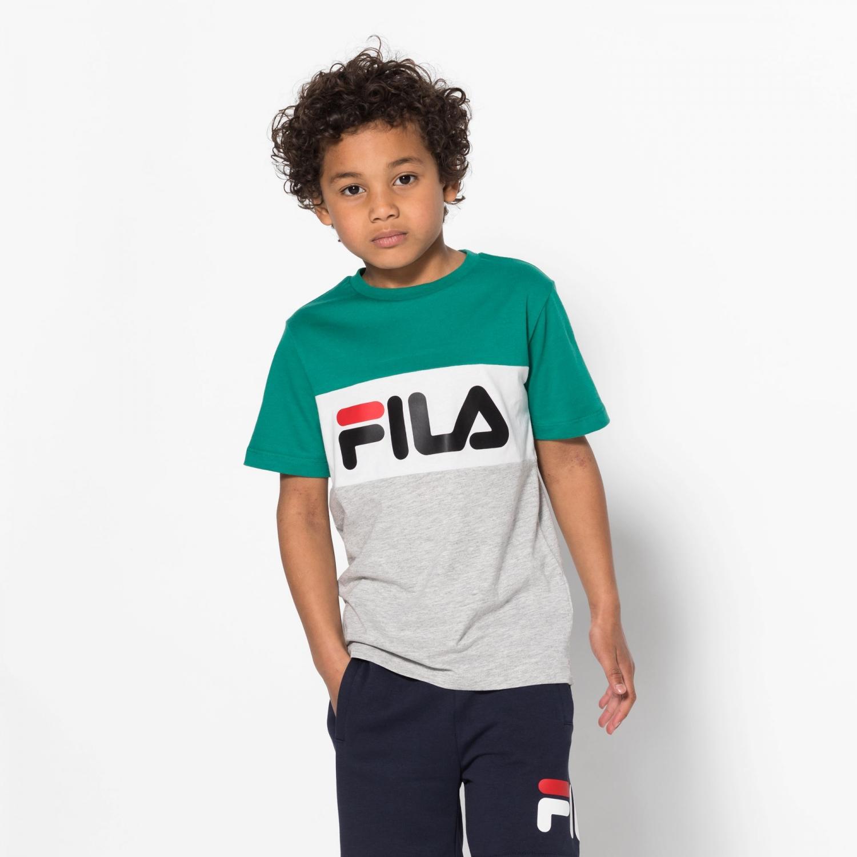 Fila Kids Classic Day Blocked Tee shady-glade Bild 1