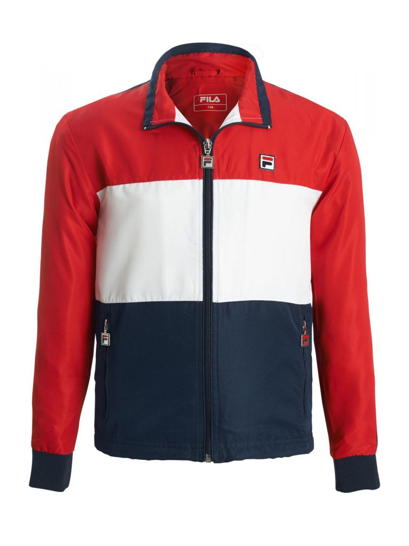 red fila jacket