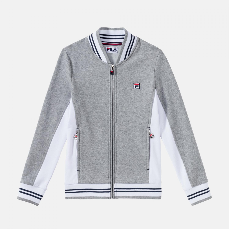 Fila Kids Jacket Oscar grey Bild 1