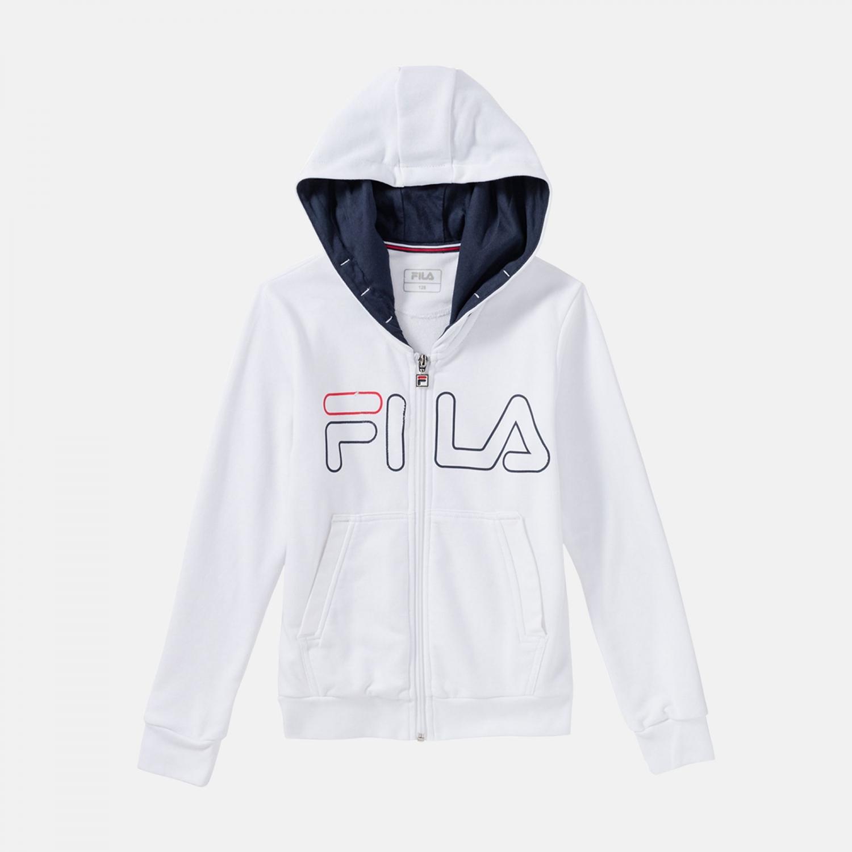 Fila Kids Sweatjacket William white Bild 1