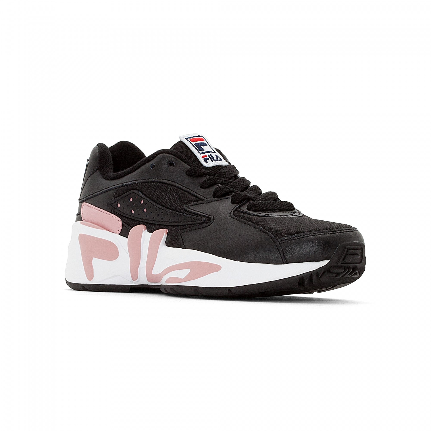 6673c8aa5149 Fila - Mindblower Wmn black-white-pink shadow - 0001...