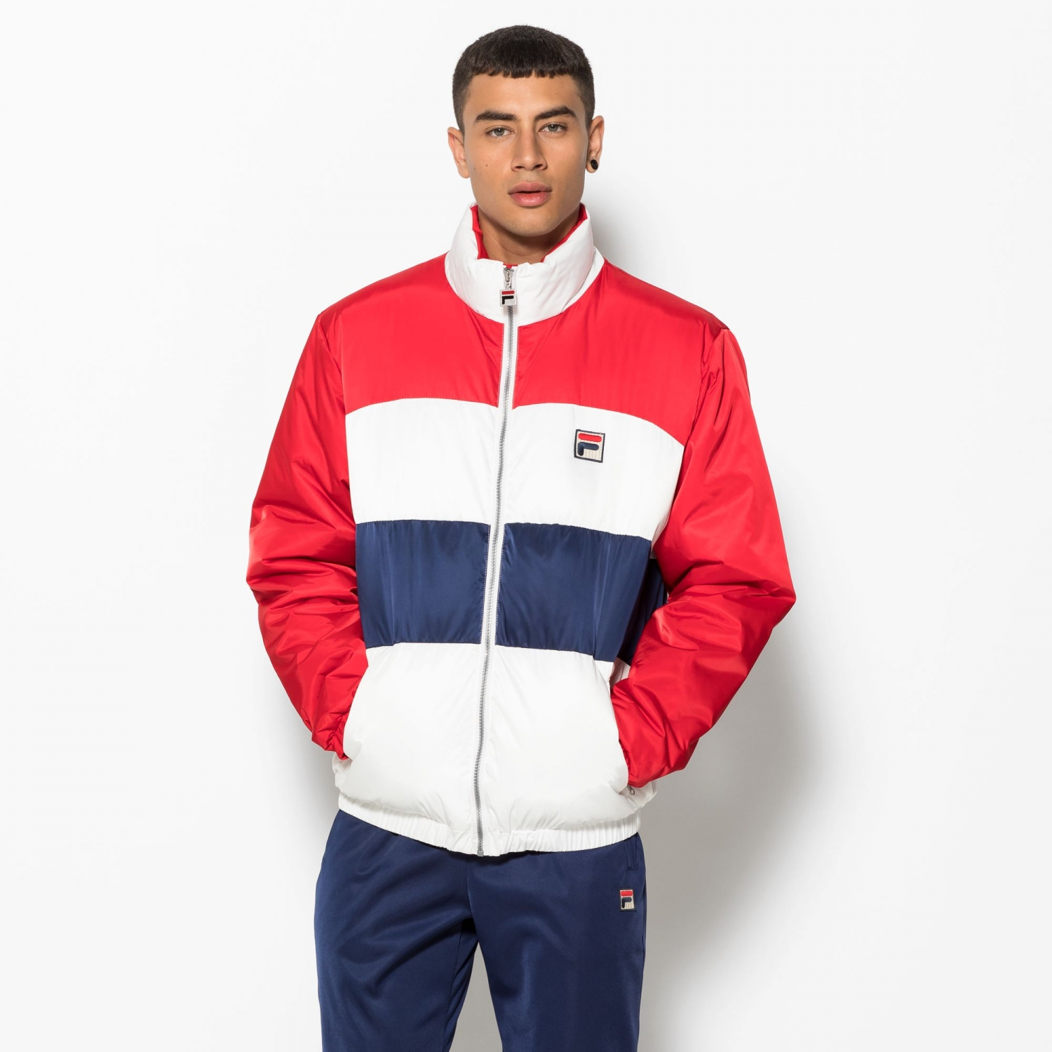 Neo Colour Blocked Puffa Jacket