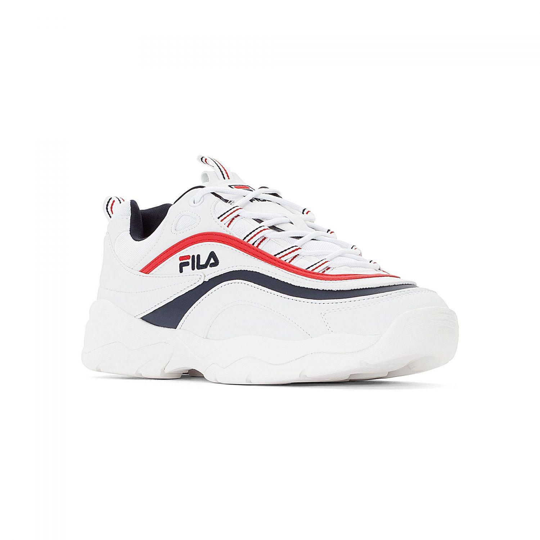2acf003394 Ray Low Men white-navy-red