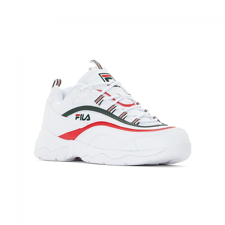36c268ac45df Fila - FILA Ray Men white-sycamore-red - 00014201672...