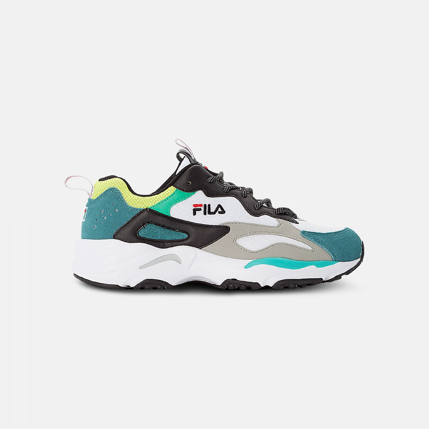 Fila Ray Tracer Men black-everglade-lime Bild 1