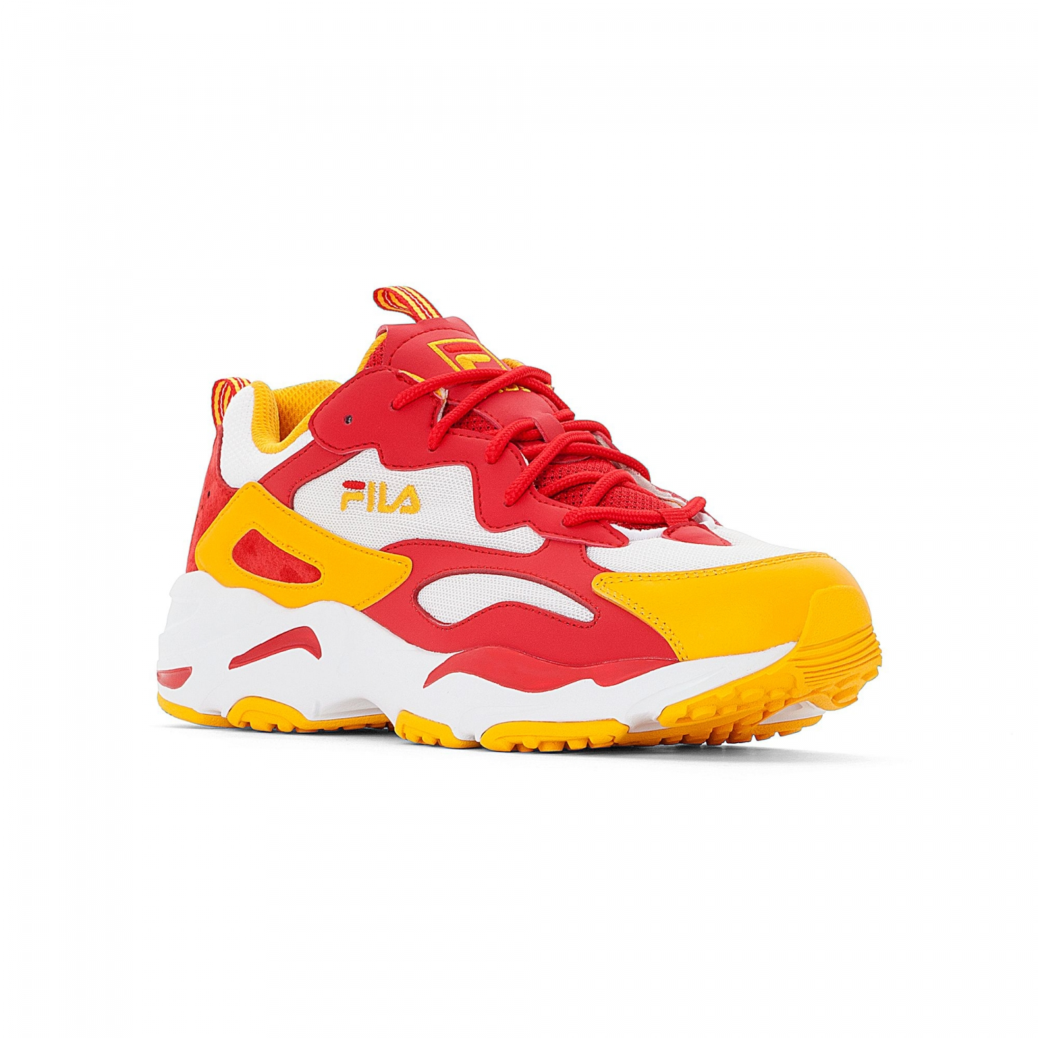 b70eda1ad Fila Ray Tracer Men white-yellow-fire red - white | FILA Official