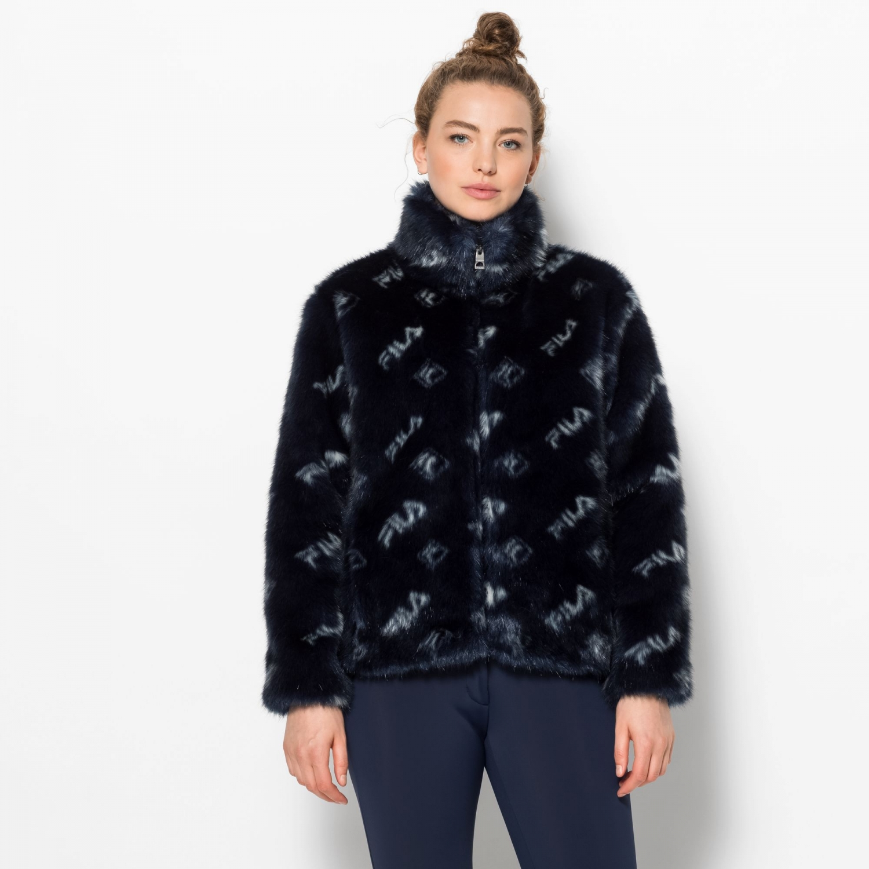 Fila Saima Fur Jacket Bild 1