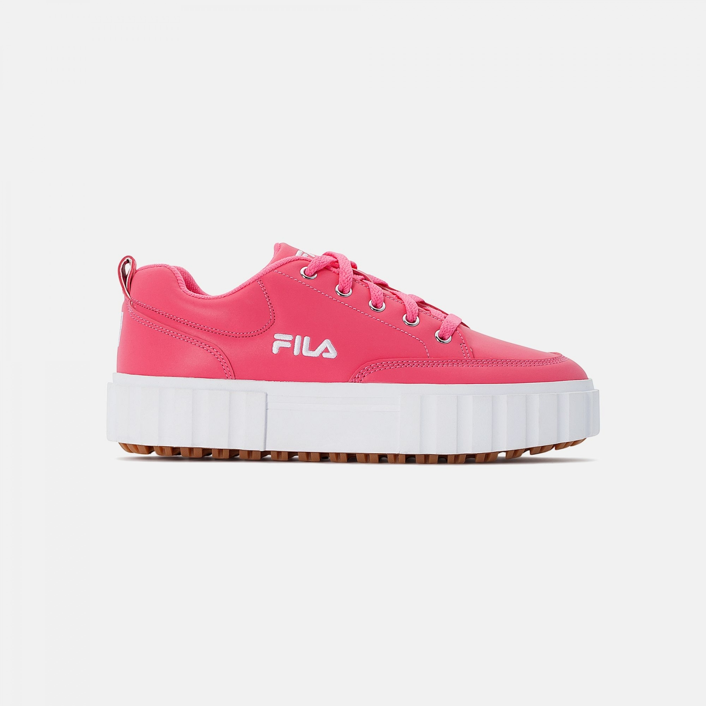 Fila Sandblast Low Wmn pink-glo-white Bild 1