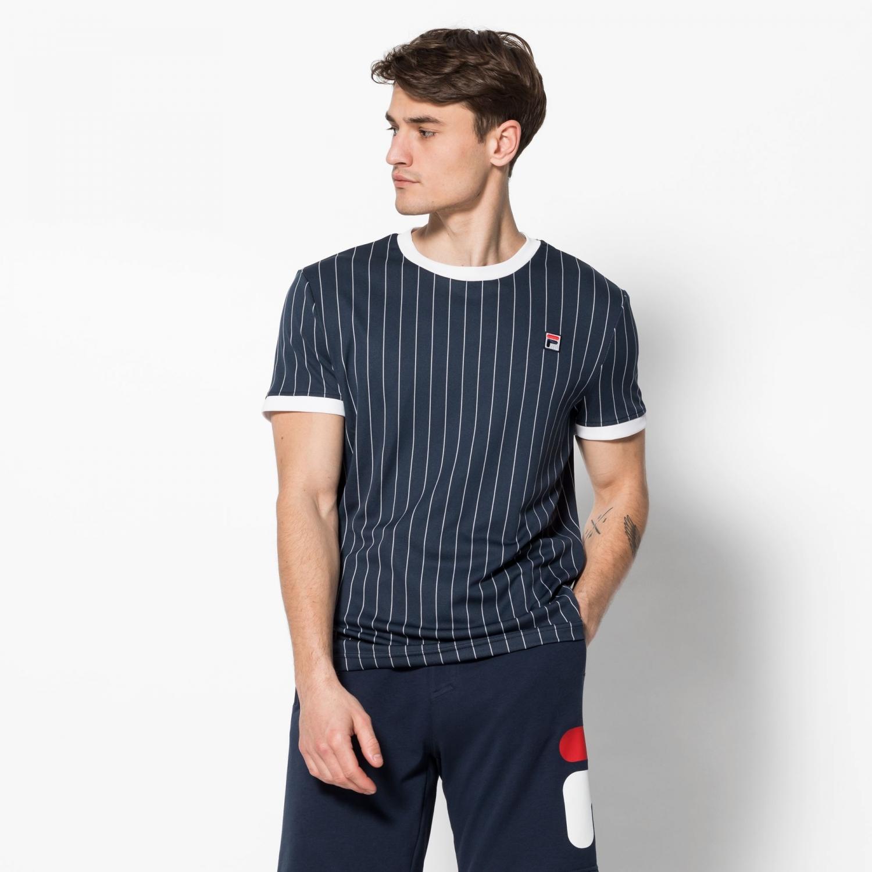 Fila Shirt Stripes peacoat Bild 1