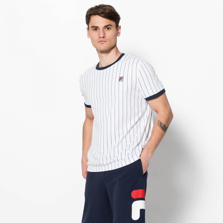Fila Shirt Stripes white Bild 1