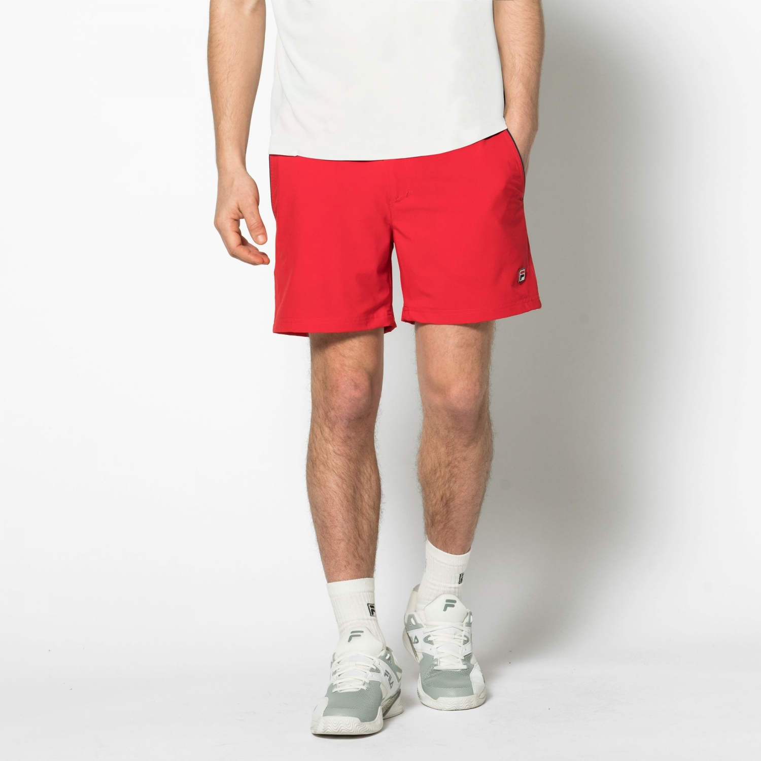 Fila Shorts Stephan red Bild 1