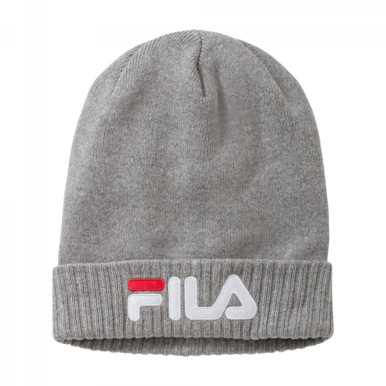 Fila - Slouchy Beanie - 00014201657984 - grey  b3fb8e4df14