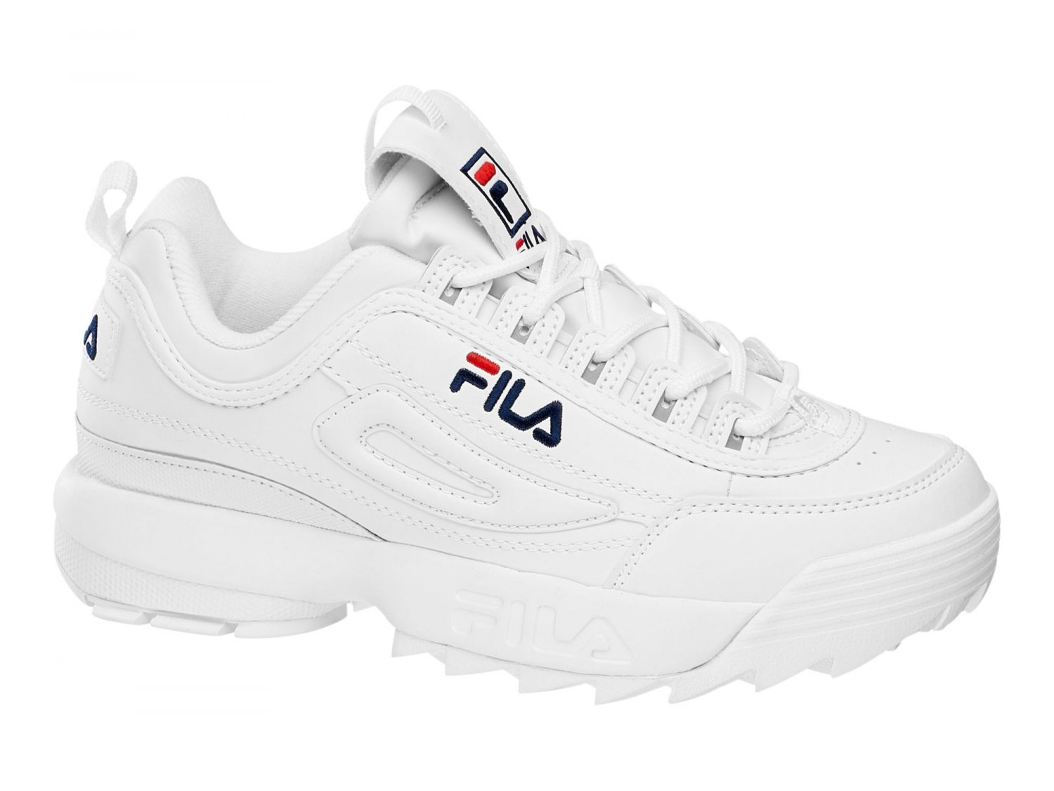 fila sneaker disruptor low 00014201479839 white. Black Bedroom Furniture Sets. Home Design Ideas