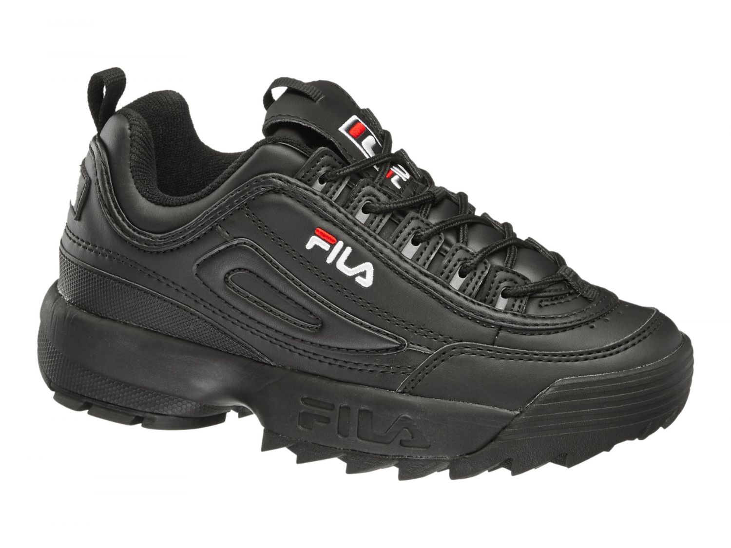 fila sneaker disruptor low 00014201545836 black fila germany. Black Bedroom Furniture Sets. Home Design Ideas