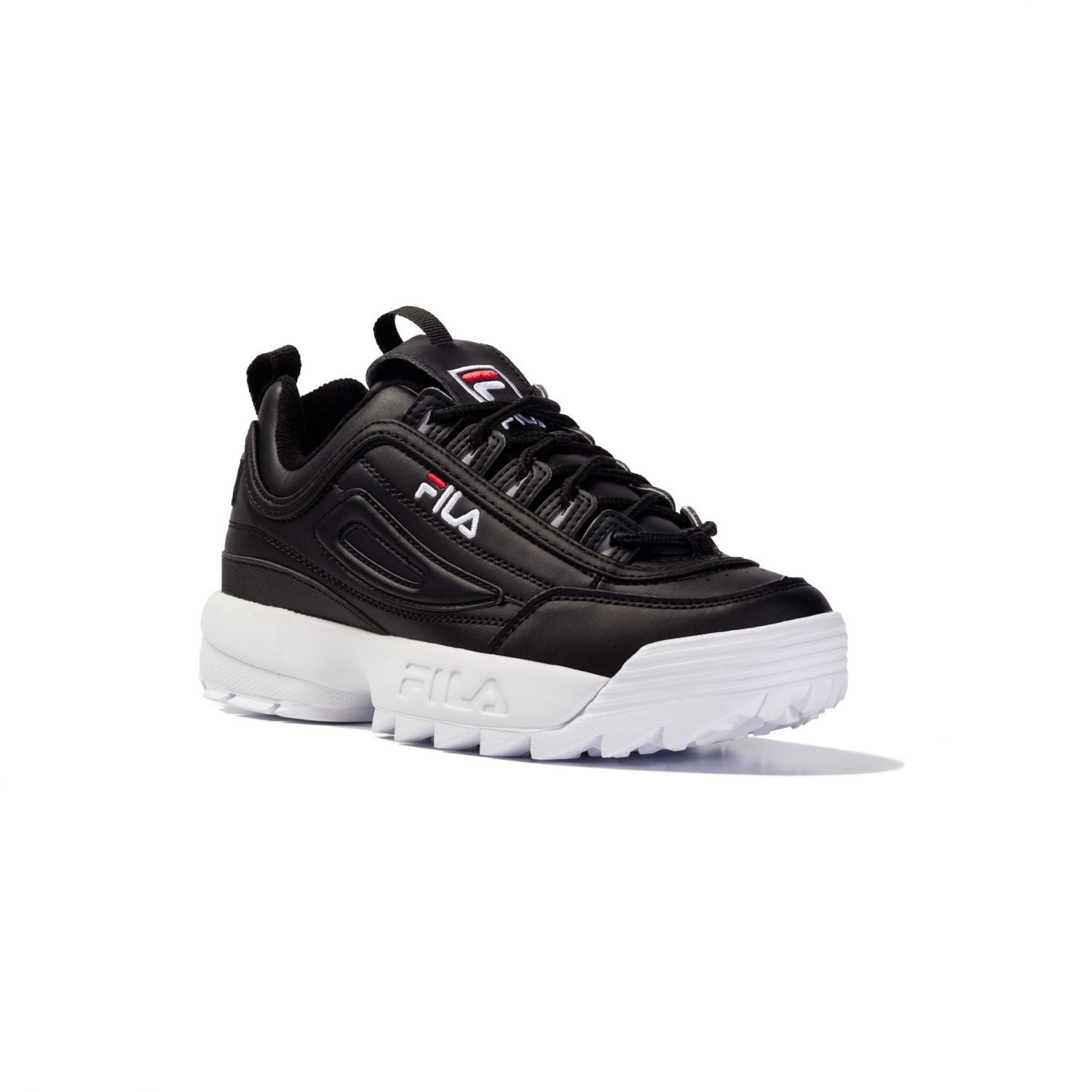 fila disruptor womens black