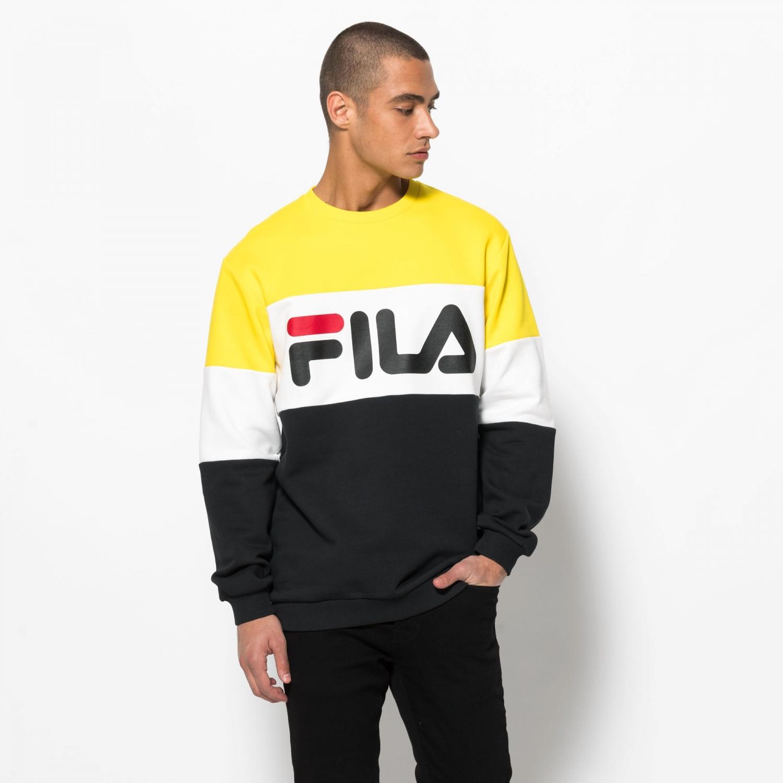 21523ba3c4d Fila - Straight Blocked Crew - 00014201681315 - yellow