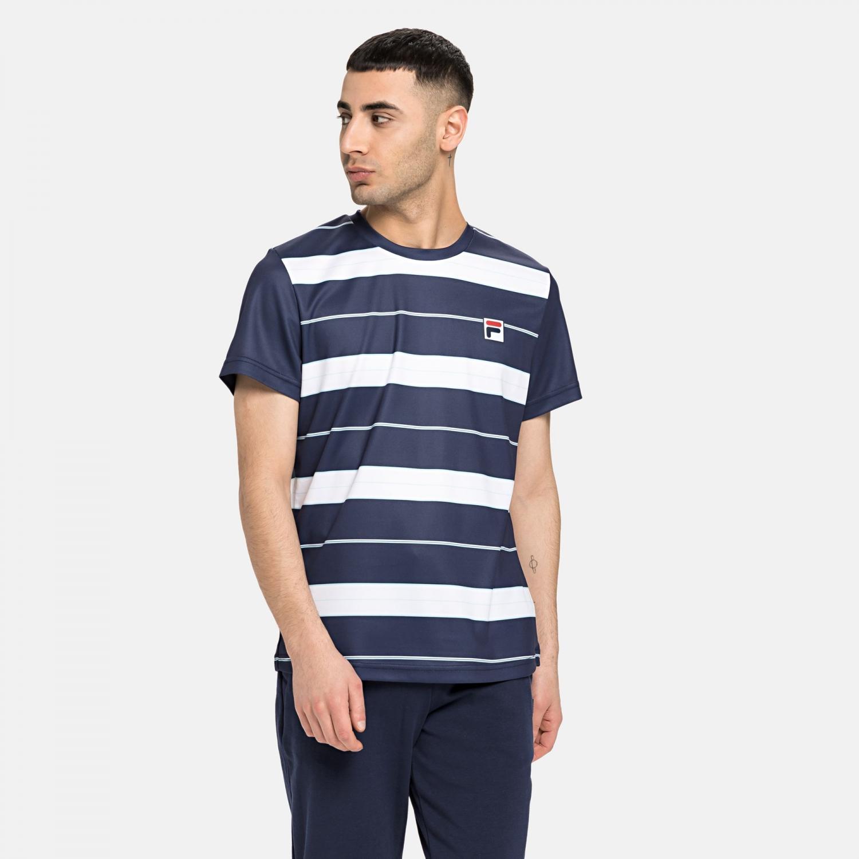 Fila T-Shirt Julian dark blue Bild 1