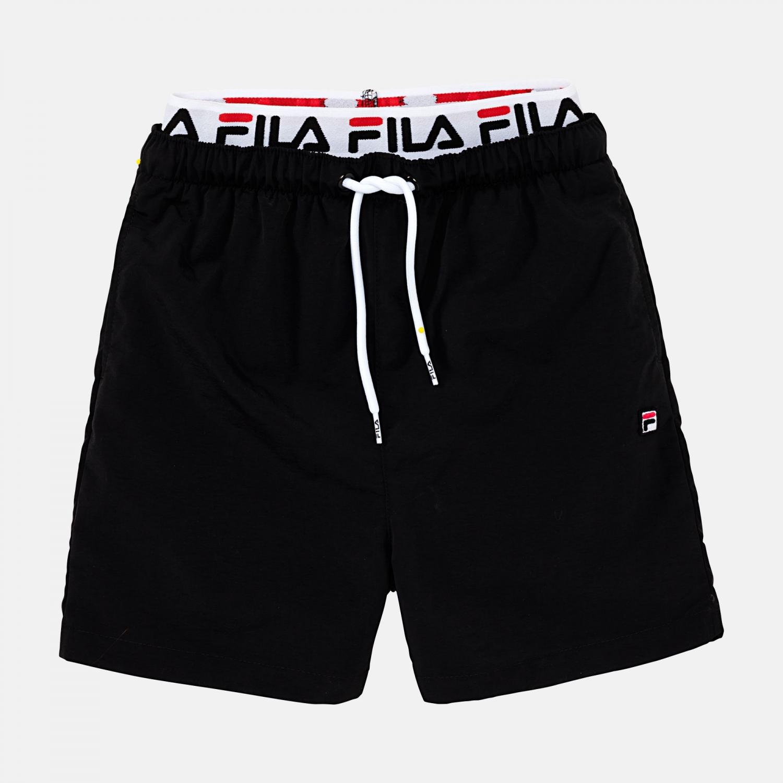 Fila Teens Boys Rene Swim Short black Bild 1