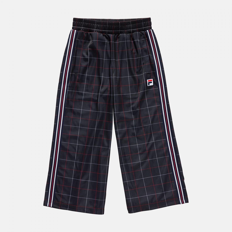 Fila Teens Grazia AOP Wide Leg Trousers black Bild 1