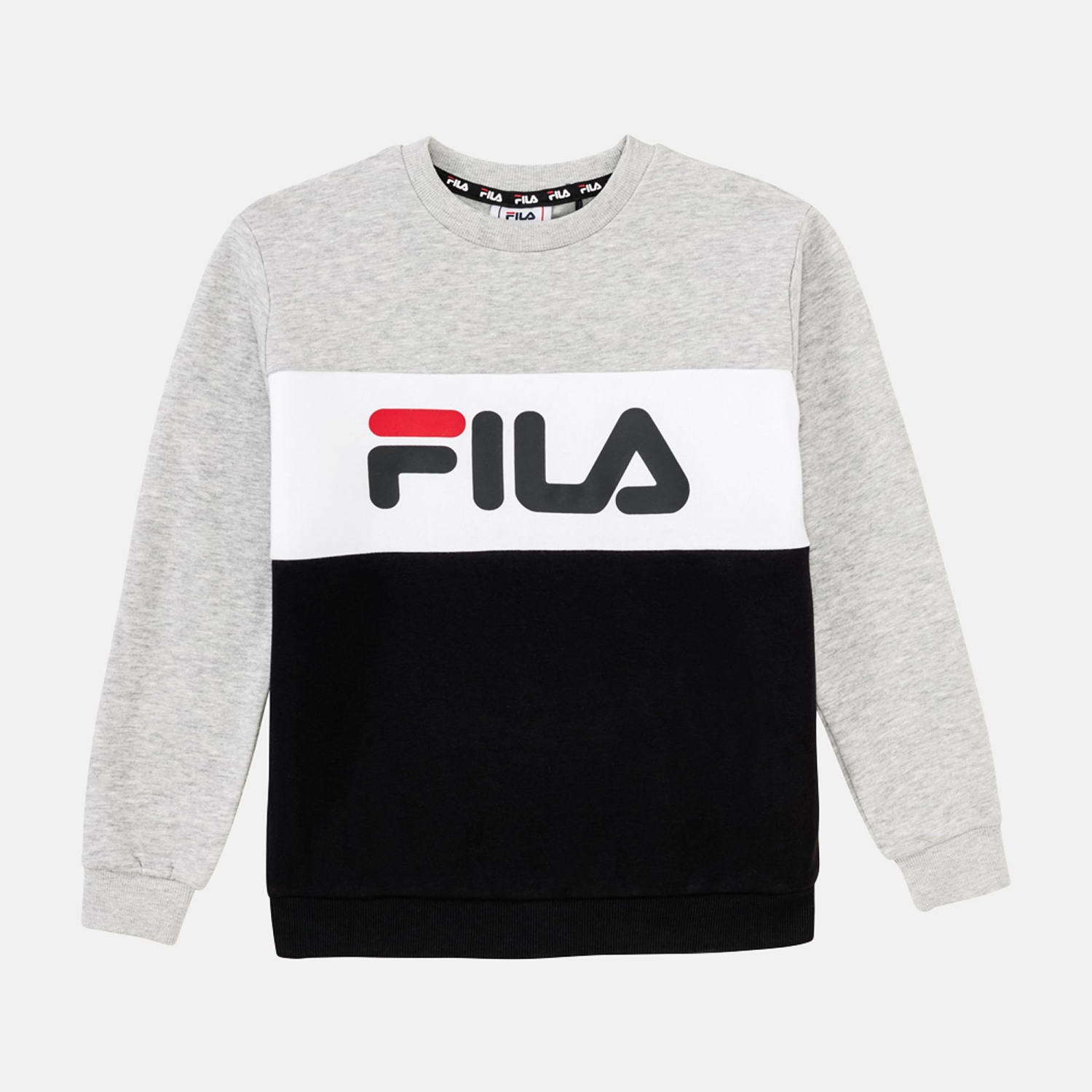 Fila Teens Night Blocked Crew Shirt Bild 1