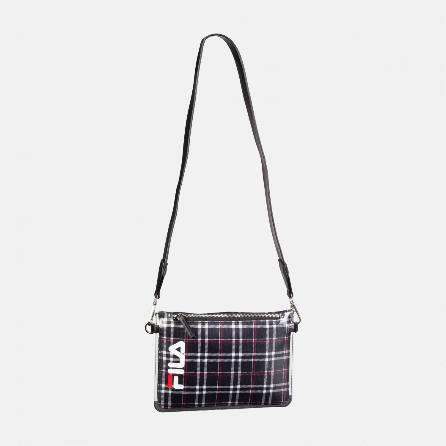 Fila Transparent Cross Body Bag black-tartan-aop Bild 1