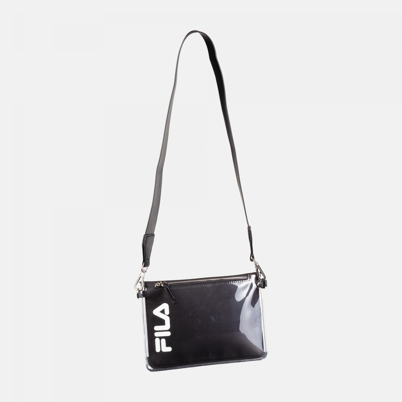 Fila Transparent Cross Body Bag black Bild 1