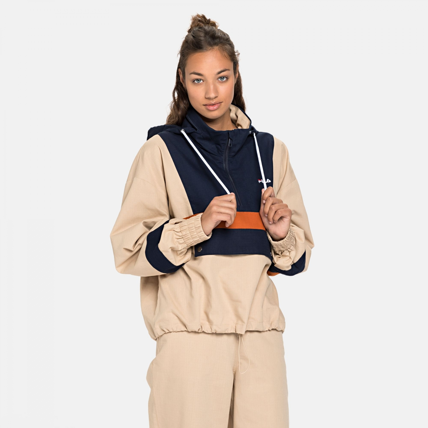 Fila Waverly Blocked Anorak Bild 1