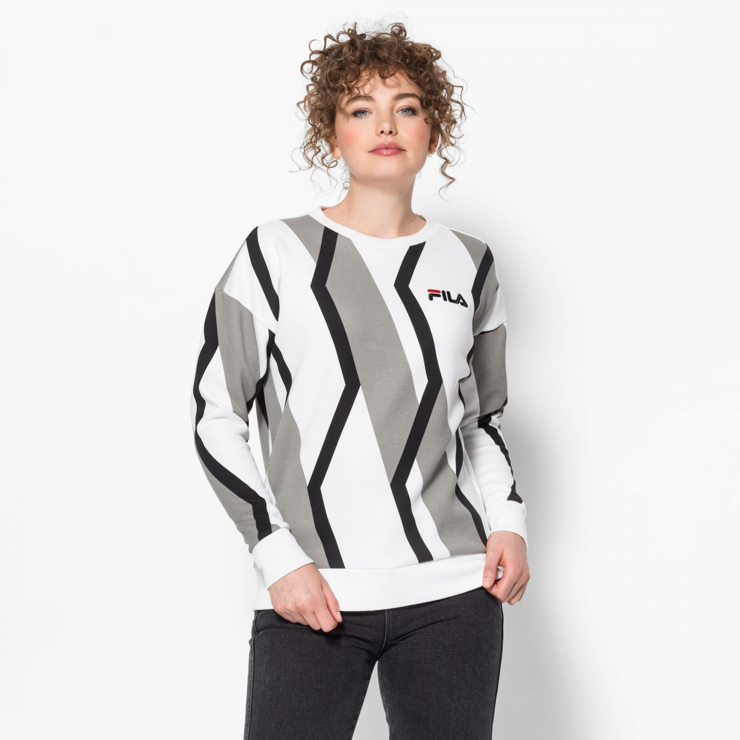 Fila Waverly Prinked Crew Sweat Bild 1