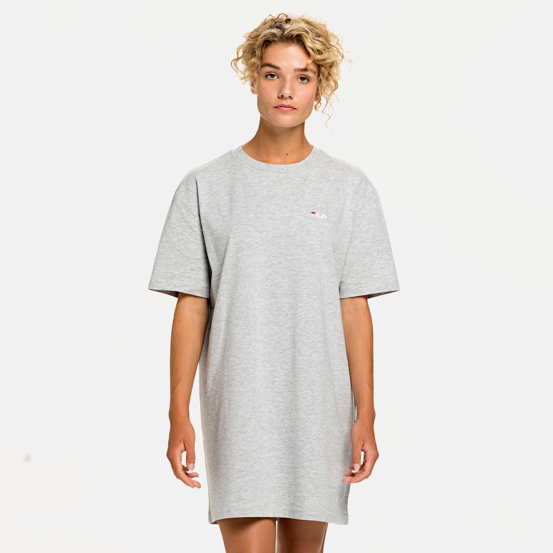 Fila Wmn Elle Tee Dress lightgrey-melange Bild 1