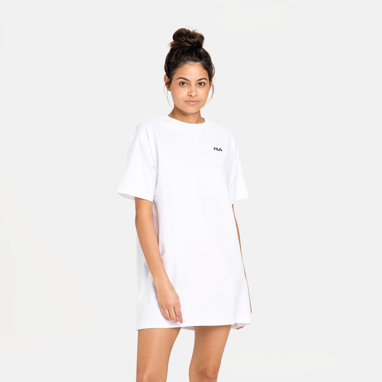 Fila Wmn Elle Tee Dress white Bild 1