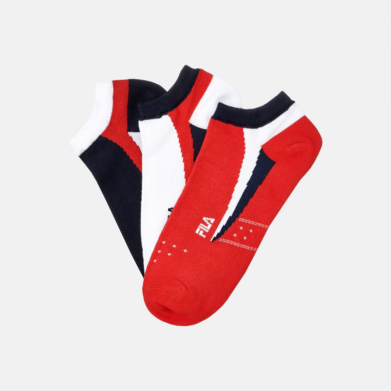 Fila 3 Pairs Unisex Sneaker Socken Bild 2