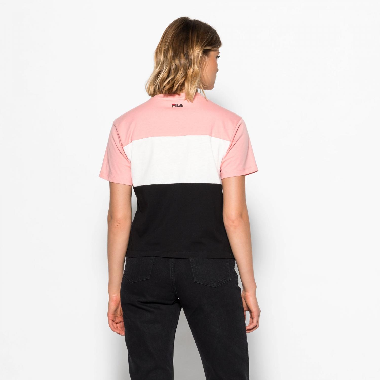 Fila Allison Tee pink-white-black Bild 2
