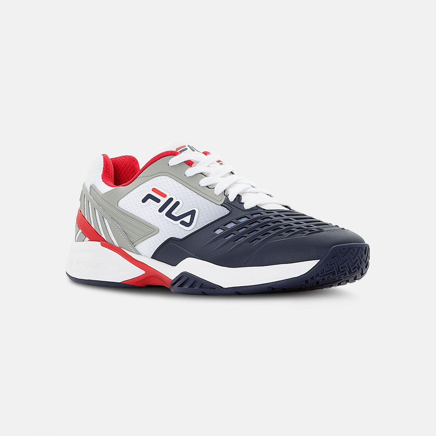 Fila Axilus 2 Energized Tennis Shoe Men white-navy-red Bild 2