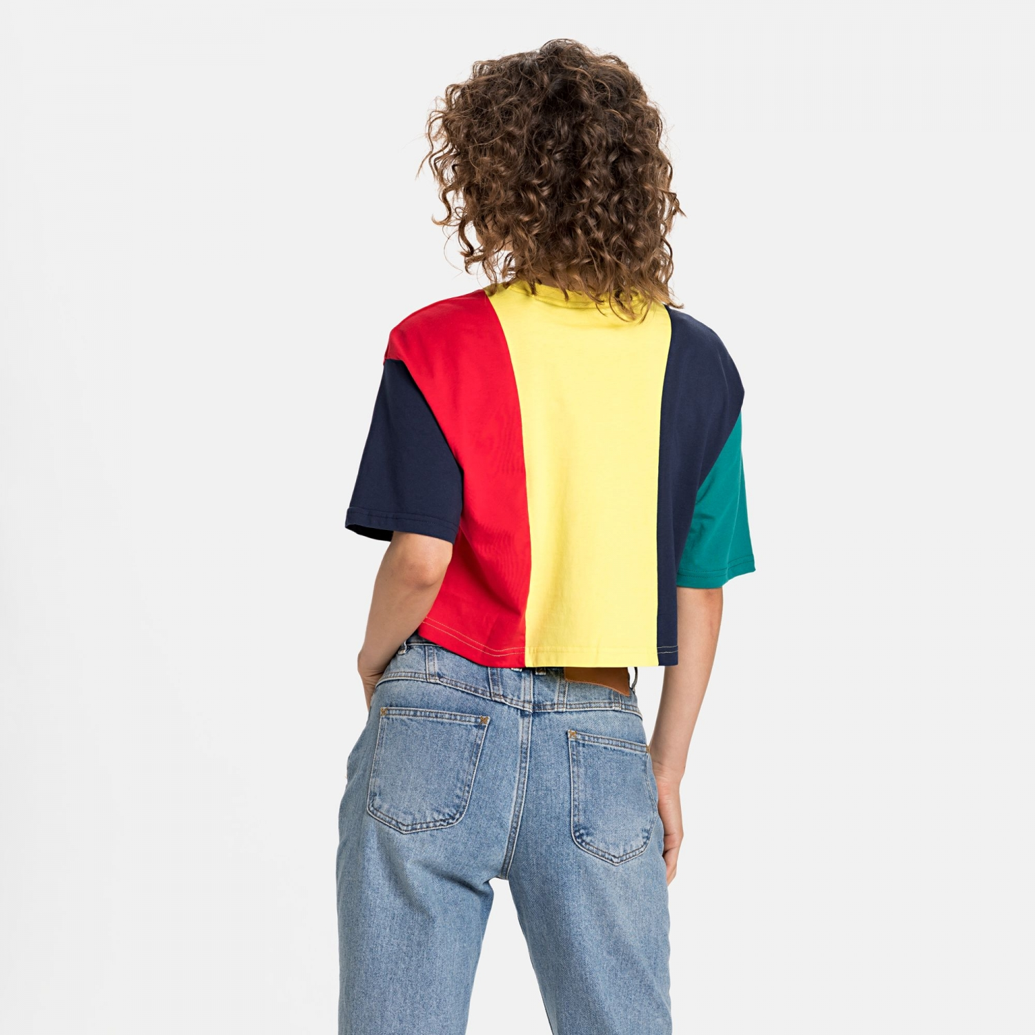 Fila Basma Blocked Cropped Tee Bild 2
