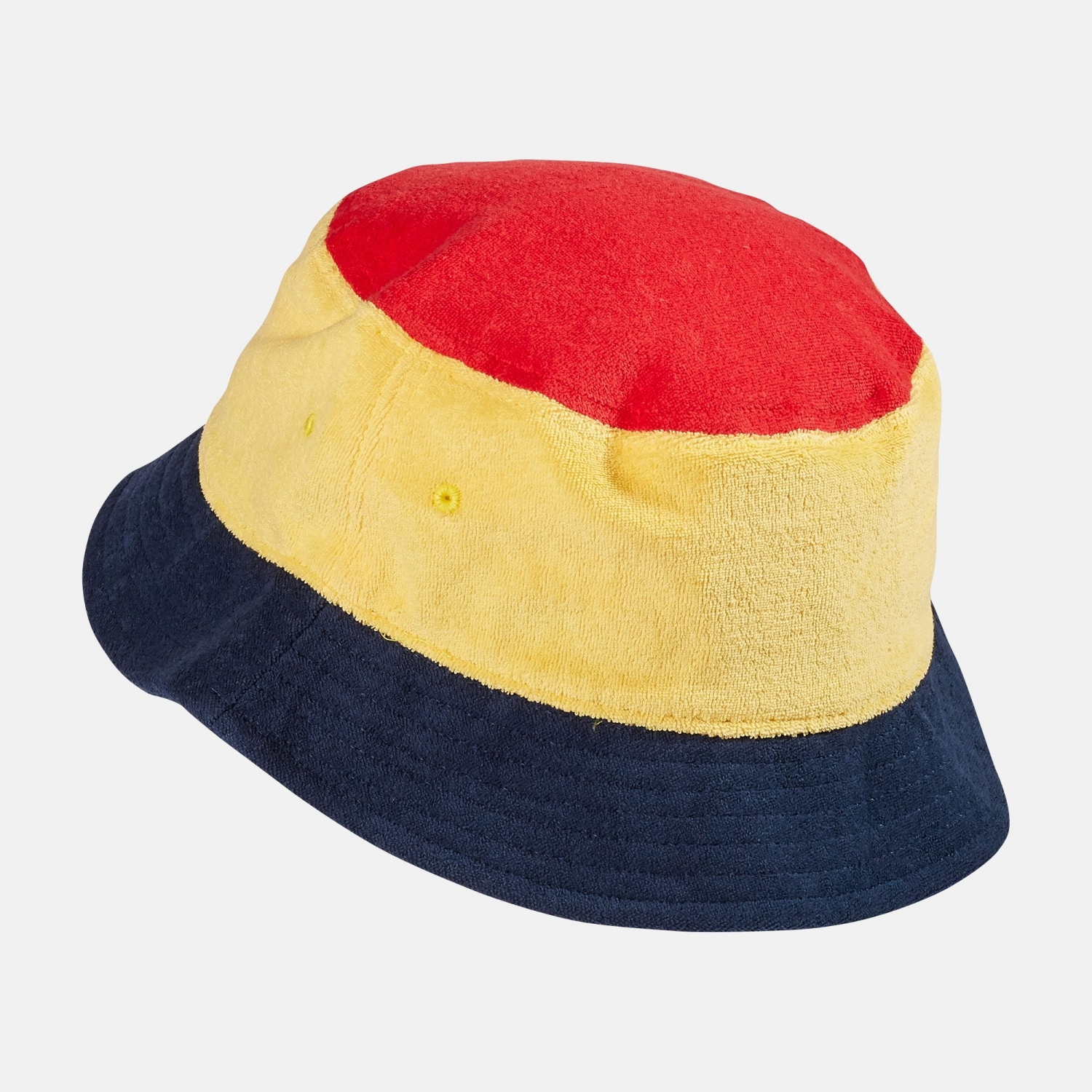 Fila Blocked Bucket Hat red-yellow-navy Bild 2