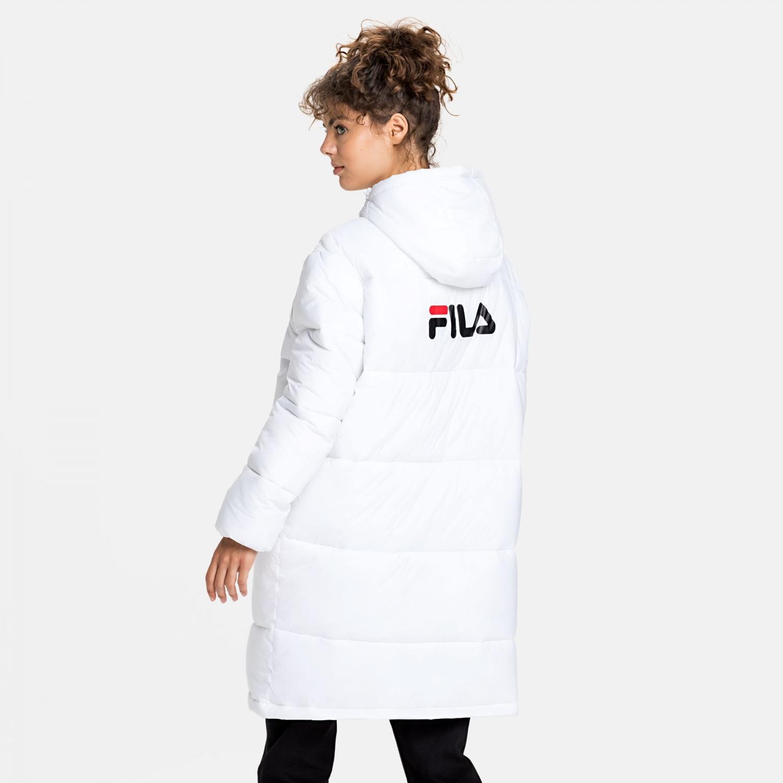 Fila Bronwen Puff Hood Jacket white Bild 2
